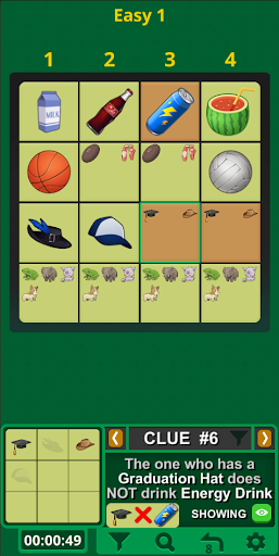 Einstein's Riddle Logic Puzzles 6.8.8G screenshots 13
