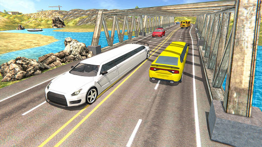 Limousine Taxi Driving Game android2mod screenshots 2