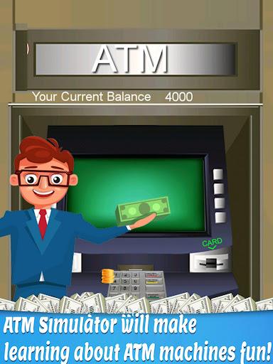 bank atm simulator learning - atm cash machine screenshot 3