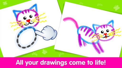 Toddler Drawing Academyud83cudf93 Coloring Games for Kids android2mod screenshots 3