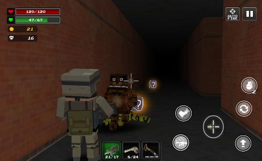 Pixel Z Hunter2 3D - World Battle Survival TPS  screenshots 1