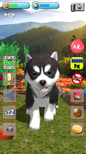 Talking Puppies - virtual pet dog to take care  screenshots 9
