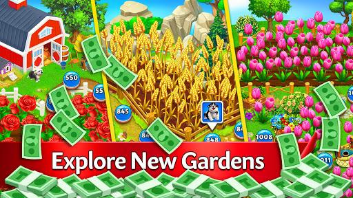 Solitaire Garden - TriPeaks Story 1.8.1 screenshots 2