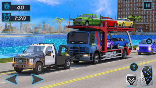 Police Tow Truck Driving Simulator 1.3 screenshots 4