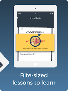 Improve English: Vocabulary, Grammar, Flashcards Screenshot