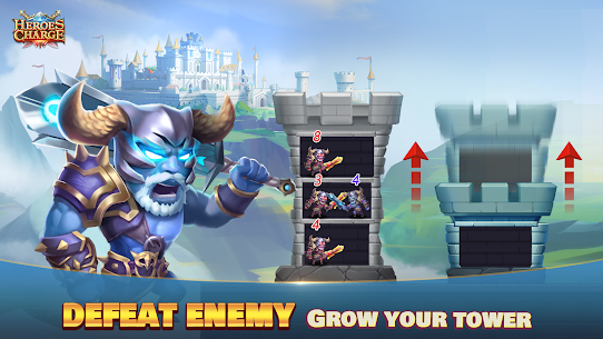 Heroes Charge Mod Apk 2.1.291 Unlimited Money/Gems for Android 1