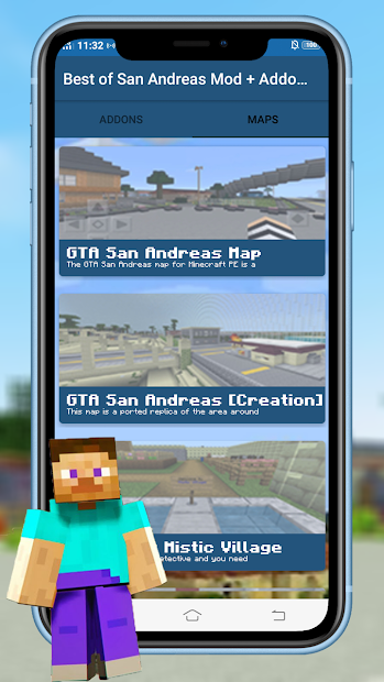 Imágen 7 de Best of San Andreas Mod + Addons CJ for MCPE para android