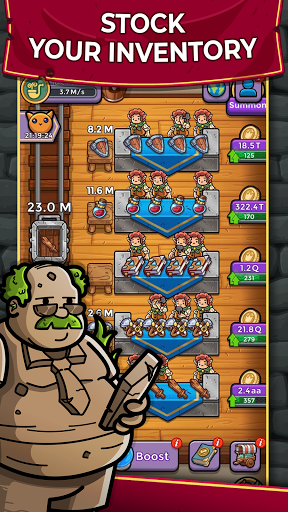 Dungeon Shop Tycoon: Craft and Idle modavailable screenshots 4