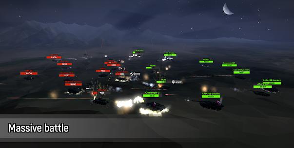 Poly Tank 2: Battle Sandbox Mod Apk (Free Shopping) 4