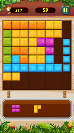 Wood Block Puzzle Classic android2mod screenshots 1