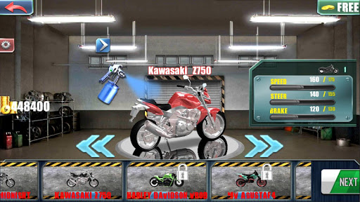 motorcycle traffic 3d screenshot 3