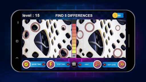 Spot 5 Differences 1000 levels 1.6.8 screenshots 23