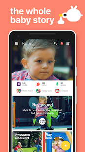 Hello Baby: Parenting app for best baby moments 1.8.13 Screenshots 1
