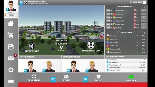 Club Soccer Director 2020 - Soccer Club Manager 1.0.81 Screenshots 9