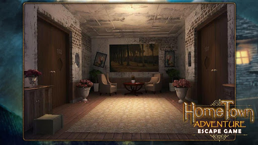 Escape game:home town adventure  screenshots 1