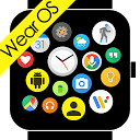 Bubble Cloud Tile Launcher Watch face (WearOS)