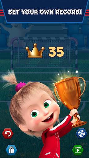 Masha and the Bear: Football Games for kids Apkfinish screenshots 5