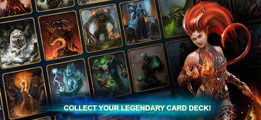 Blood of Titans: Quest & Battle Fantasy ccg 1.19 screenshots 1