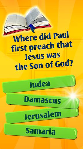 Bible Trivia Quiz Game With Bible Quiz Questions 6.1 screenshots 4