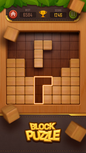Wood Block Puzzle - 3D 3.0 screenshots 1