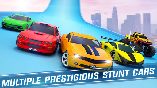 Ramp Car Stunts Racing - Free New Car Games 2020  screenshots 10