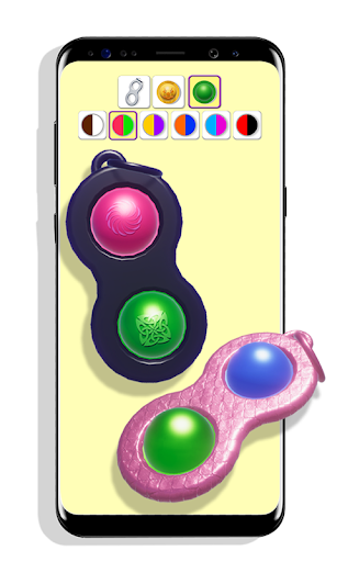 DIY Simple Dimple! Pop It Fidget Toys Set  screenshots 2