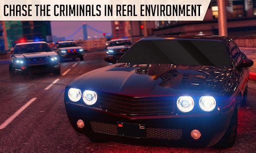 Real Police Car Simulator: Police Car Drift Sim android2mod screenshots 1