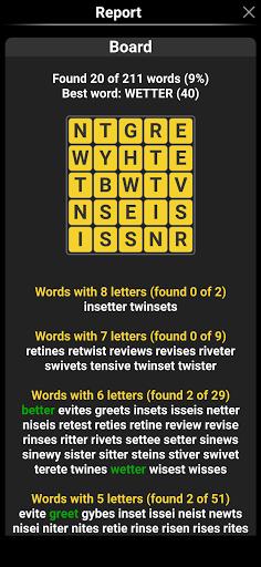 Word Shaker Free 4.1 screenshots 4