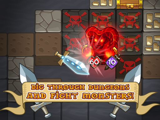 Mine Quest - Crafting and Battle Dungeon RPG apkslow screenshots 15
