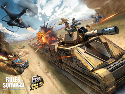 RULES OF SURVIVAL poster