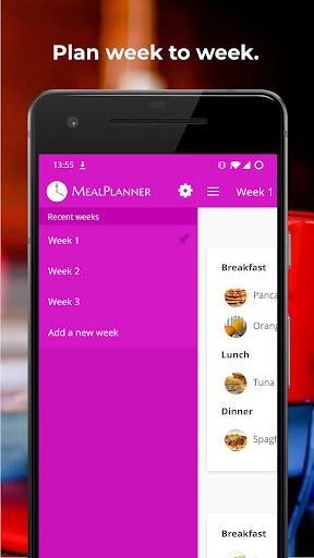 Plan Meals - MealPlanner modavailable screenshots 2