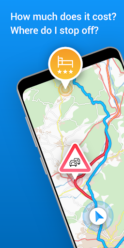 ViaMichelin GPS Traffic Speedcam Route Planner 10.13.2 Screenshots 1