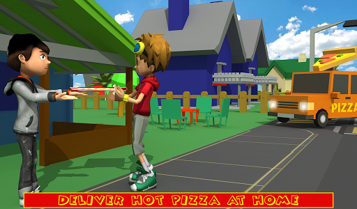 Blocky Pizza Delivery screenshots 13