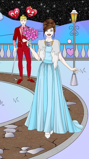 Wedding Coloring Dress Up - Games for Girls  screenshots 5