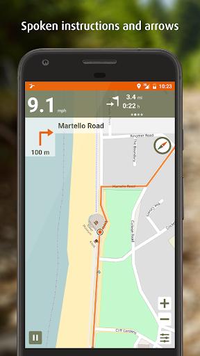 Naviki – Bike navigation  screenshots 3