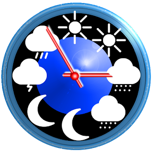 Weather app widget with barometer eWeather HDF 8.3.9 by Elecont software logo
