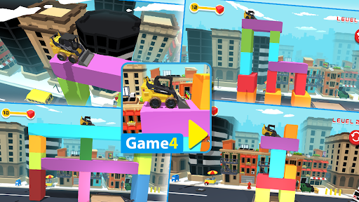 Animated Puzzles tractor farm Apkfinish screenshots 7