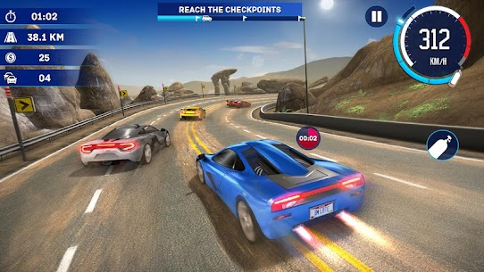 Fast Car Traffic Racing For Pc, Windows 7/8/10 And Mac – Free Download 2020 1