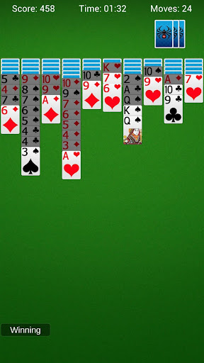 spider solitaire - best classic card games screenshot 3