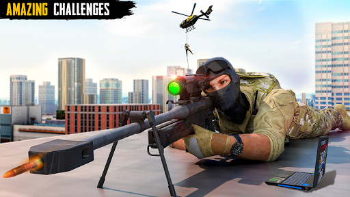 Sniper 3D Shooting Strike Mission: New Sniper Game 1.24 screenshots 1