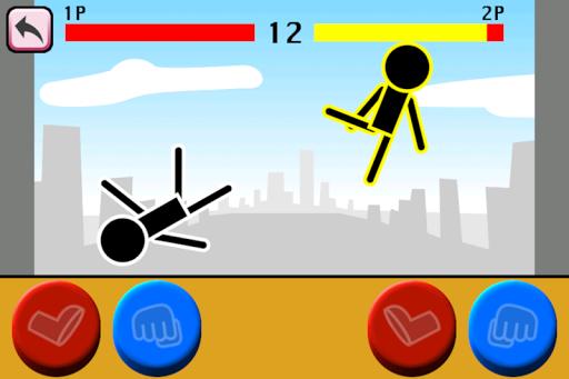 Fighting games Mokken: stick man battle modavailable screenshots 10
