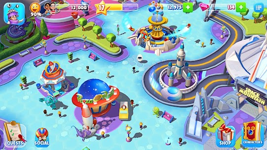 Disney Magic Kingdoms MOD APK (Unlimited Money Gems) 6.1.0l for android 6