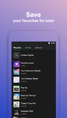 Spotify Liteのおすすめ画像4