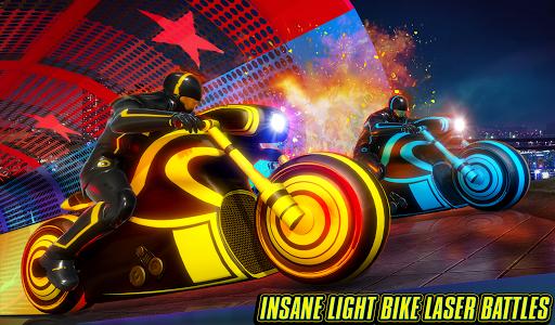 Light Bike Stunt Racing Game 18 Screenshots 6