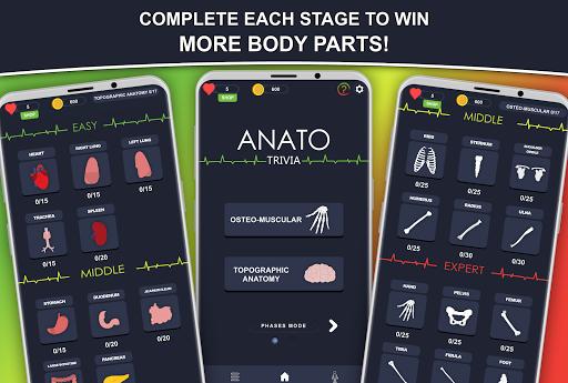 Anato Trivia -  Quiz on Human Anatomy 3.2.2 Screenshots 3