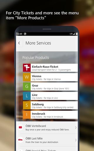 u00d6BB u2013 Train Tickets & More apktram screenshots 4