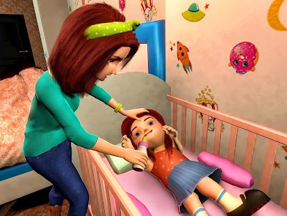 Virtual Mother Game: Family Mom Simulator Screenshot