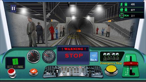 Indian metro train simulator  screenshots 4