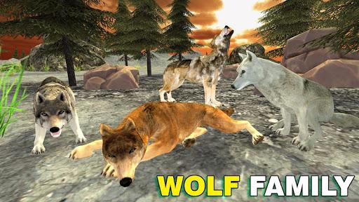 wolf family simulator : rpg wolf attack screenshot 2