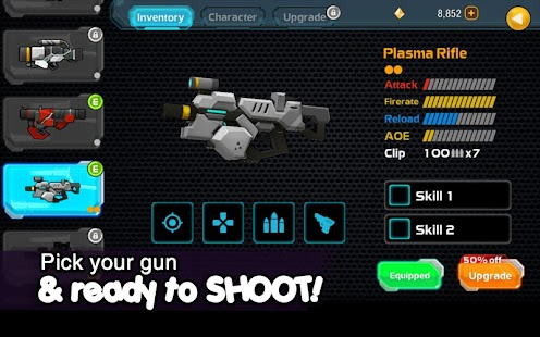 Galaxy Gunner: The Last Man Standing 3D Game Screenshot